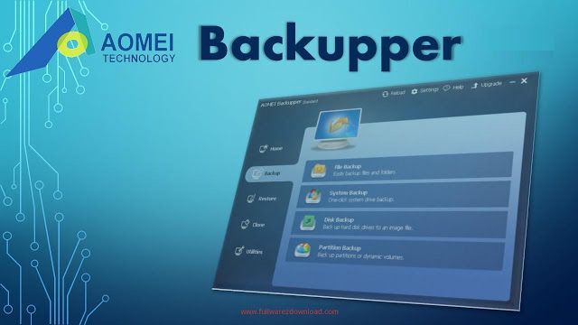 AOMEI Backupper 4.0 Professional  AOMEI Backupper 4 is easy-to-use backup and recovery software free for home users and commercial use fully protects your computer from data loss. It lets you securely backup PC and Server provides one-click backup your system partition or disk and does it in minutes. This software also can explore the created image and restore it to the hard drive if your data gets lost or corrupted. You can create a bootable rescue disk for recovering your data when the…