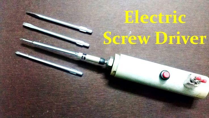 Como fazer chave de fenda elétrica em casa