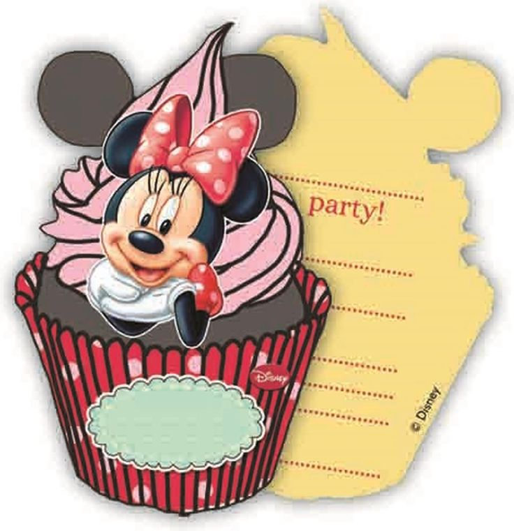Nodig al je vriendjes en vriendinnetjes uit voor je verjaardag met deze uitnodigingen van Minnie Mouse. In deze set zitten 6 uitnodigingen.   Afmeting: volgt later.. - Uitnodigingen Minnie Mouse: 6 stuks