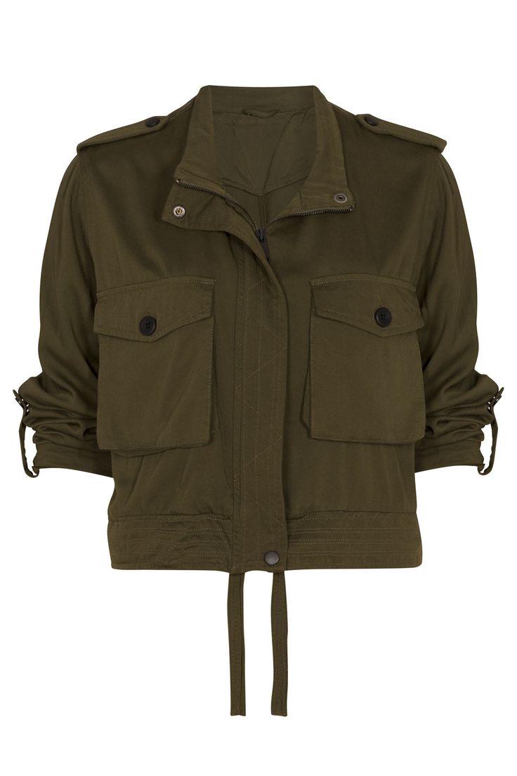 Primark Khaki Cropped Jacket, £18