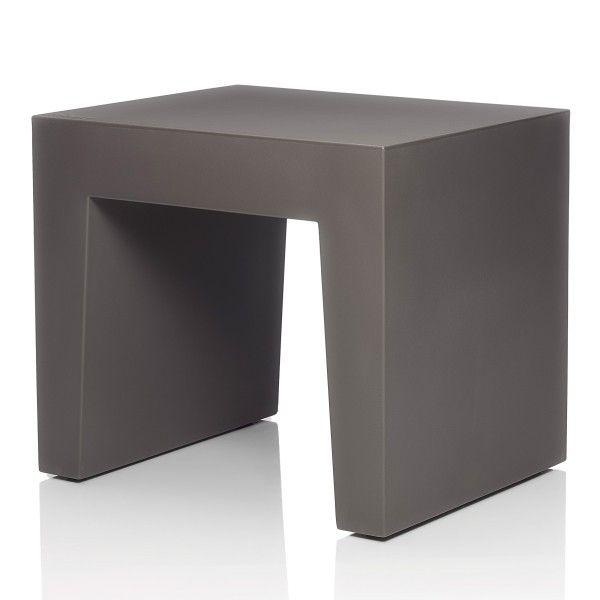 Fatboy Concrete Seat kruk. Deze kruk heeft iets weg van beton, maar ze zijn veel lichter! #Fatboy #kruk #design #Flinders