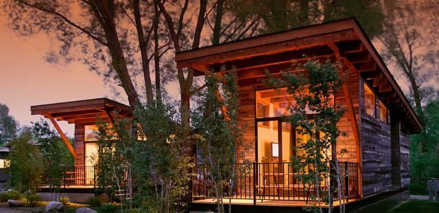 5 Sexy and Affordable Prefab Starter Homes and Granny Pads: A Cozy Manufactured Cabin #prefabhomesaffordable #prefabapartment
