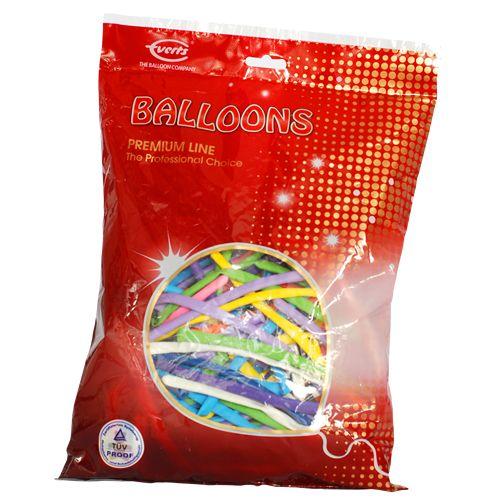 #antalya #balon  Dekorasyon balonlarından olan Sosis Balon modelleri arasında, Asorti rengarenk sosis balon ürünümüz ile renkli partiler oluşturabilirsiniz.