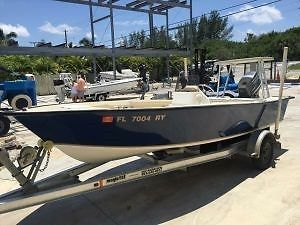 2006 Cape Craft Center Console Boat with Yamaha 90HP, Poling Stand,
