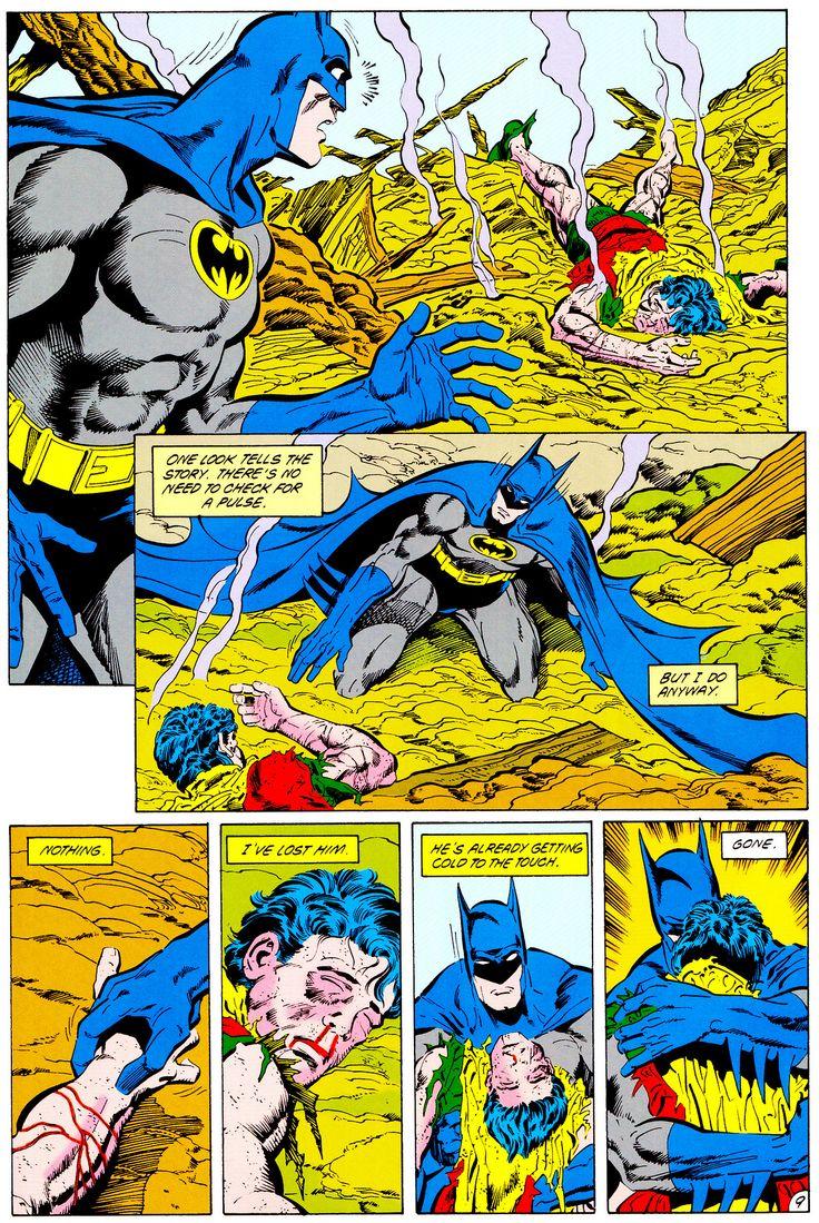 "The Death Of Jason Todd — Batman #428 (Jan. 1989) ""A"