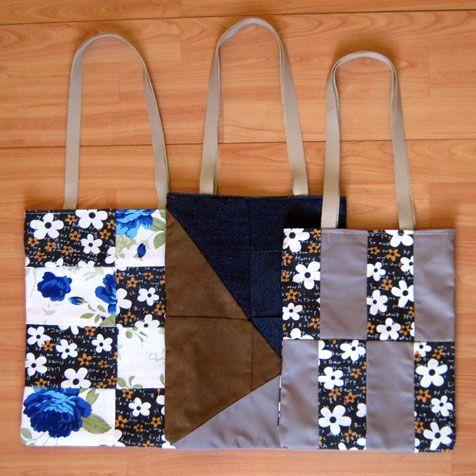Shopping Patchwork. Cómodos y ligeros bolsos al hombro.  #bomareahandmade #artesaniachile #hechoamanochile #handmadechile #shoppingbag