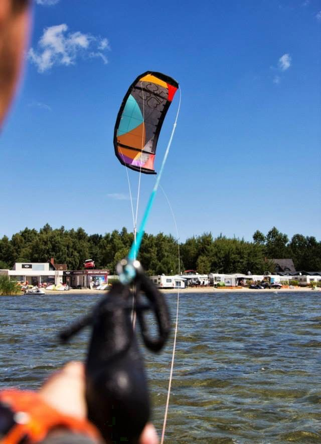 Chałupy. Kitesurfing.