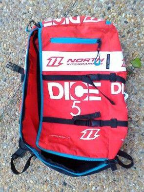 Aile North Kiteboarding DICE 5 m² 2015 d'occasion nue