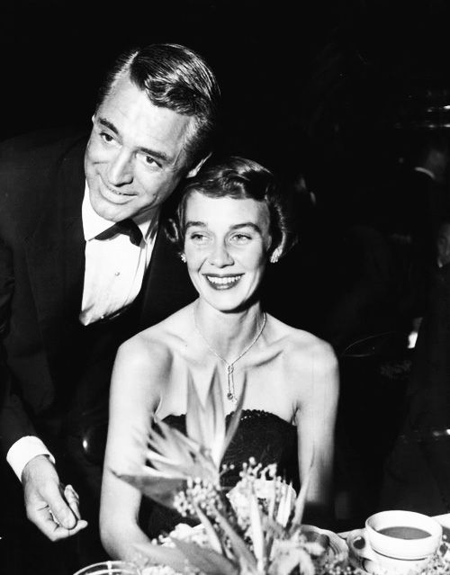 Cary Grant and wife