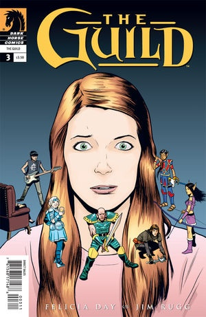 Felicia Day's the Guild in comic book format, like chocolate cake for the mind, but better!