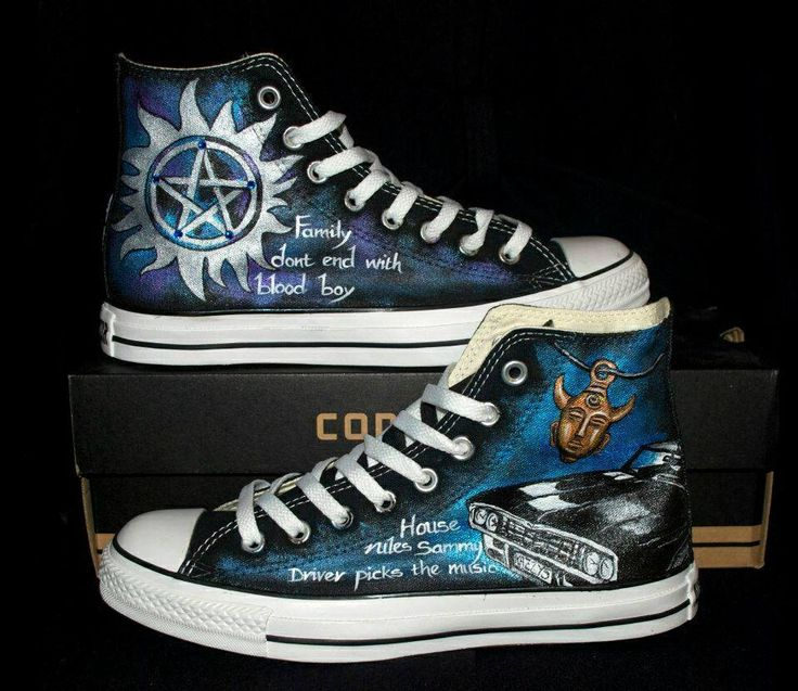 "Supernatural + Converse? Someone ""gets"" me"