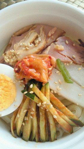★韓国冷麺の簡単おいしいスープ★ by 上手にできるかな [クックパッド ...
