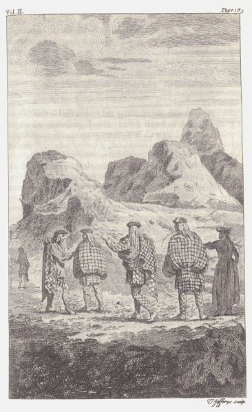 illustration from Edmund Burt's letters from the Highlands 1730-?. The estrangement between the Highlanders and the rest of Britain during the 17th and 18th centuries cannot be overstated. Everything about their culture, from their mannerisms, language, tastes, values, economic climate, and as we'll be discussing here, manner of dress – was wildly different than their English and Lowland counterparts.