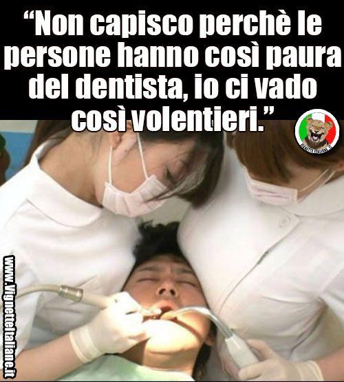 La paura del dentista  (www.VignetteItaliane.it)