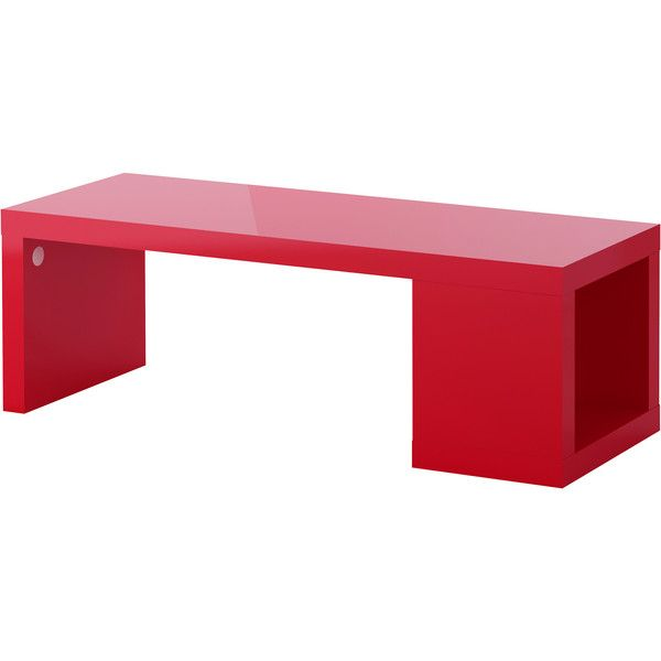 IKEA LACK Coffee Table, High Gloss Red