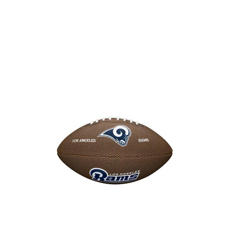 NFL Team Logo Mini Size Football - Los Angeles Rams