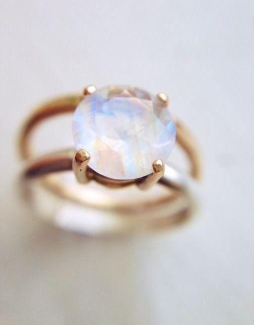 Moonstone Engagement Ring_Handmade Jewelry_LoveGem Studio 227
