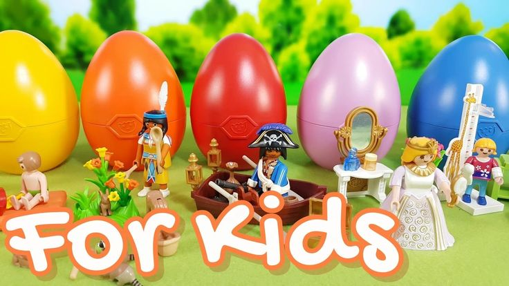 Playmobil Eggs Surprise Video for Kids