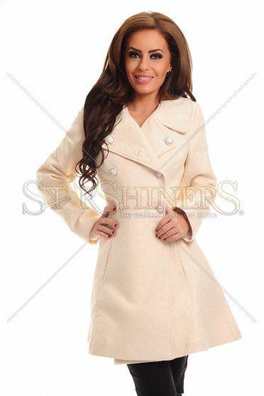 LaDonna Honey Petal Cream Coat
