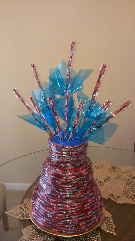 Twizzler Candy Cake