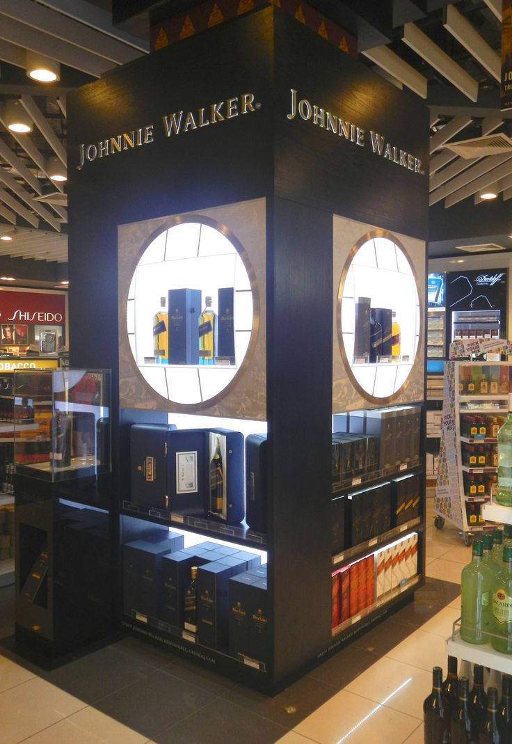 Corner Exhibition Stands : Travel retail display stand google search