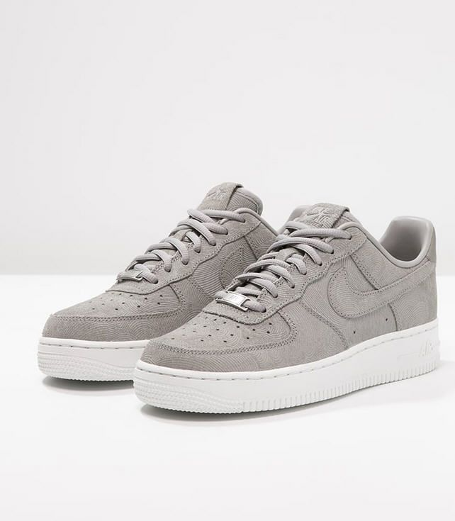 nike air force premium grey