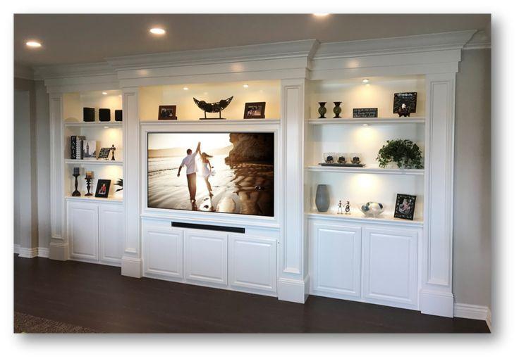 Custom Built-Ins – Entertainment Centers – Home Theater Solutions by: www.AppletonRenov… (949) 887-6764 Sales@AppletonRen… Custom Cabinets Ora…
