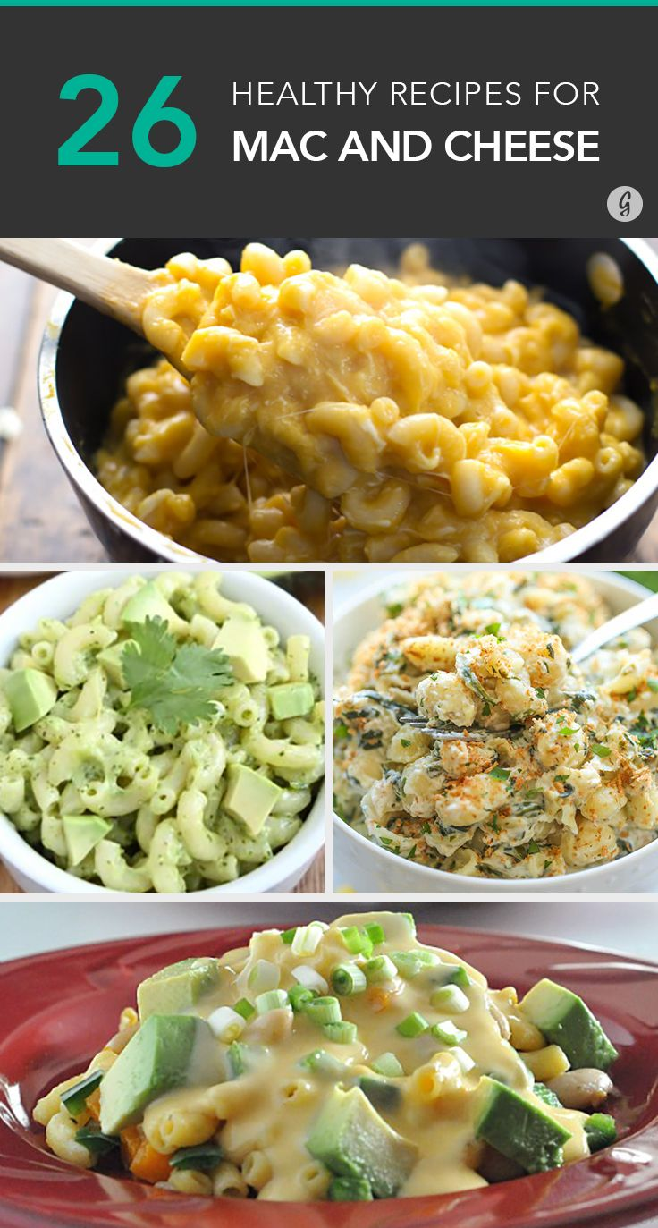 26 Healthier Mac and Cheese Recipes That Still Taste Indulgent #cheese #recipes #healthy