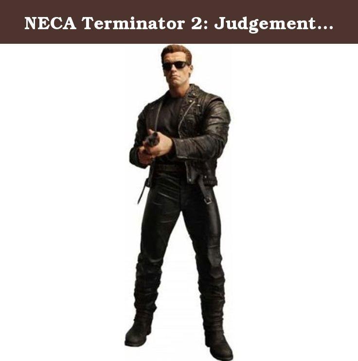 NECA Terminator 2: Judgement Day 12 Inch Figure T-800 Pescadero Escape. Figurine articulée taille env. 30 cm avec accessoires, en emballage boîte-vitrine.
