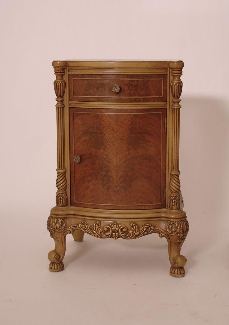Vintage French Provincial Decor End Tables - Harrington Galleries
