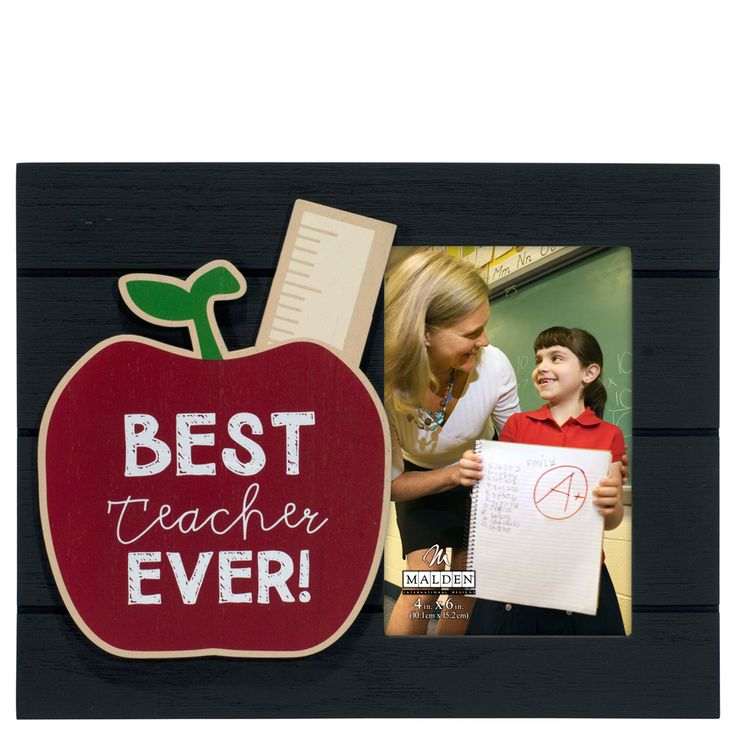 Malden Best Teacher Ever Picture Frame (4x6) at The Paper Store