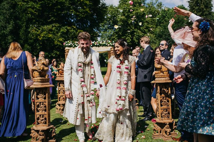 A Vibrant Indian Ceremony And Elegant English Fusion Wedding in North Yorkshire