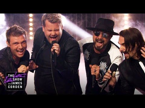 "James Corden Performs with The Backstreet Boys - YouTube Catch The Backstreet Boys ""Larger Than Life"" residency at The AXIS Planet Hollywood in Las Vegas - tickets go on sale October 1."