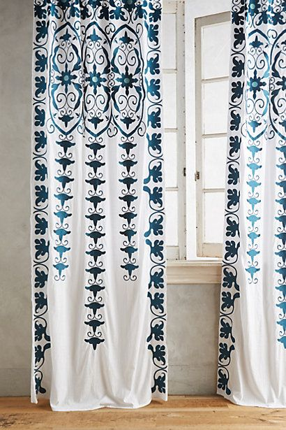 Antonella Curtain #anthropologie but in Taupe colour