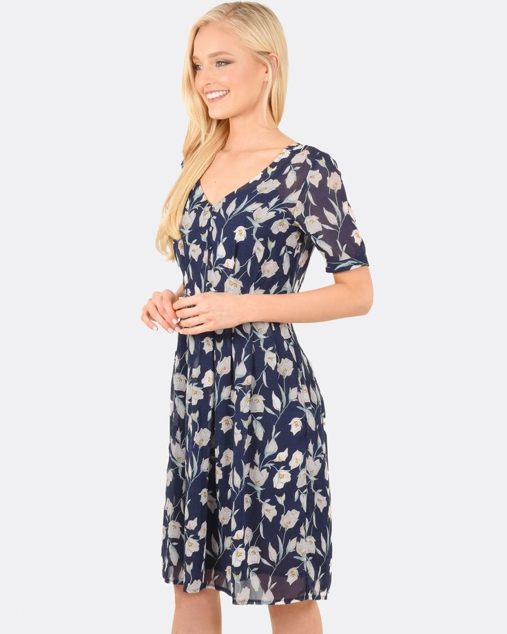 Penny Short Sleeve Dress, Forcast $79.99  http://www.shopyou.com.au/ #womensfashion #shopyoustyle