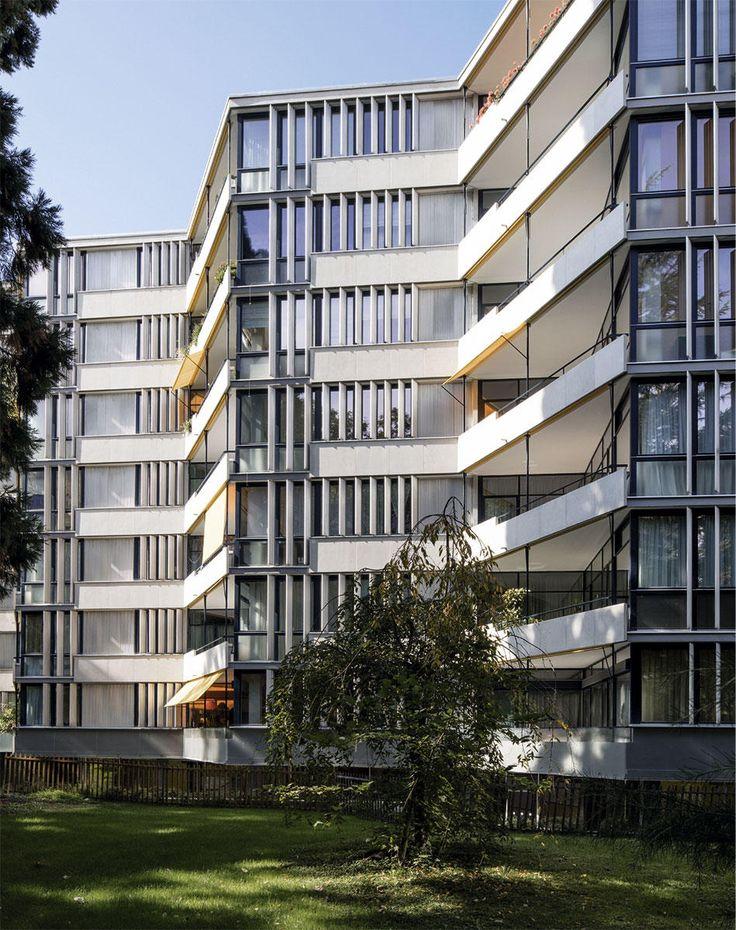 EUD I Marc Joseph Saugey: Miremont-le-Crêt, Logements   1953-1957