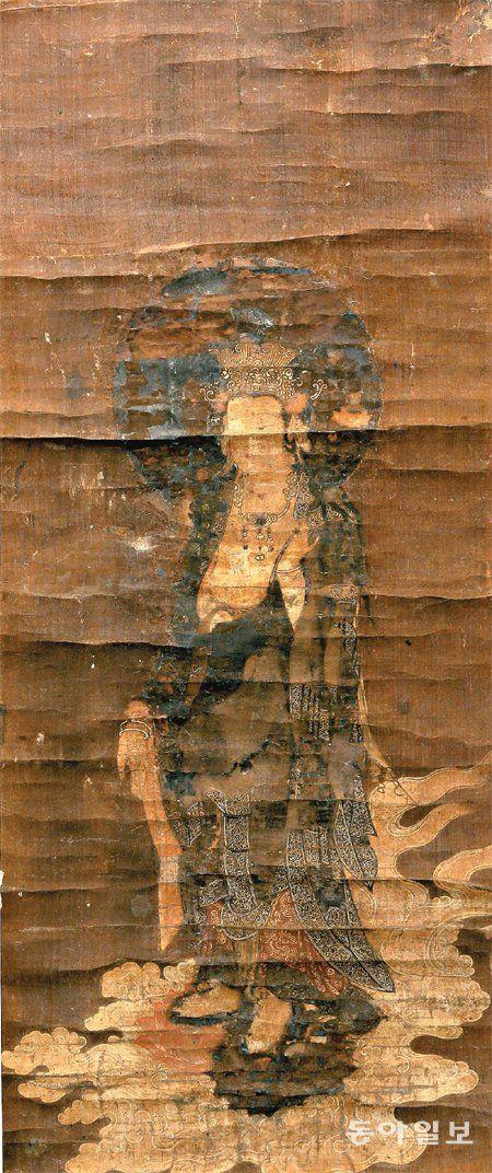 14세기 고려불화 '관음보살내영도' 최초 발견