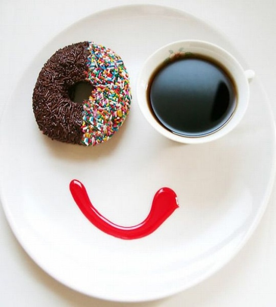 Good morning!Coffe Time, Food Group, Doughnuts, Funny Pictures, Breakfast, Food Photography, Food Art, Comforters Food, Mornings Quotes