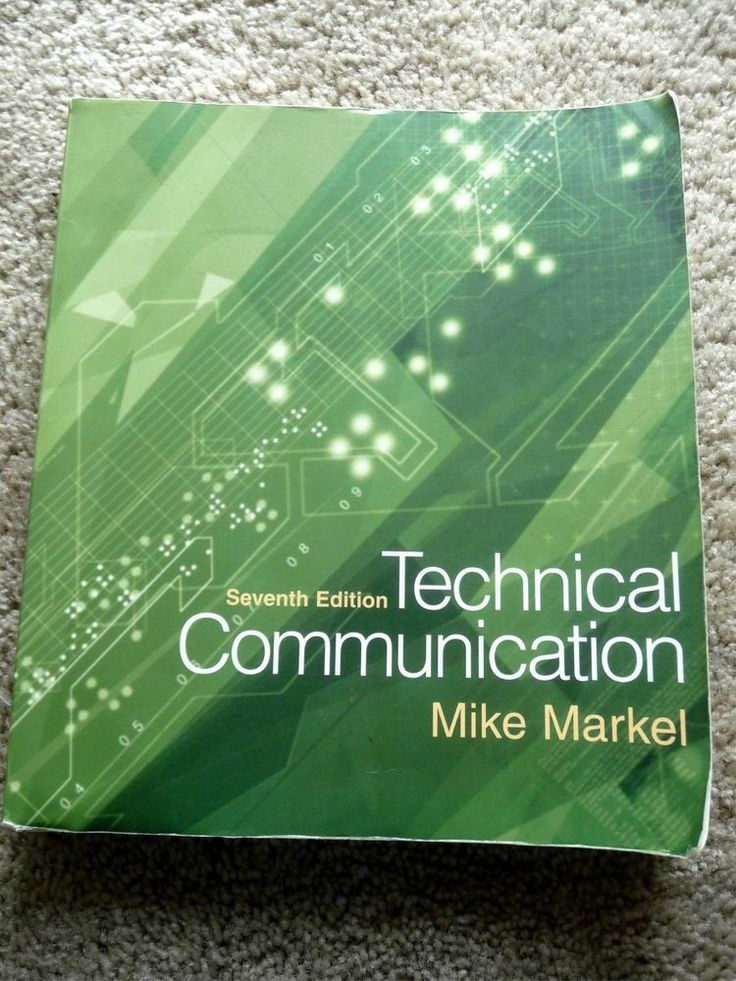 technical writing markel Rent technical communication 12th edition (978-1319058616) today, or search our site for other textbooks by mike markel every textbook comes with a 21-day any reason guarantee published by every textbook comes with a.