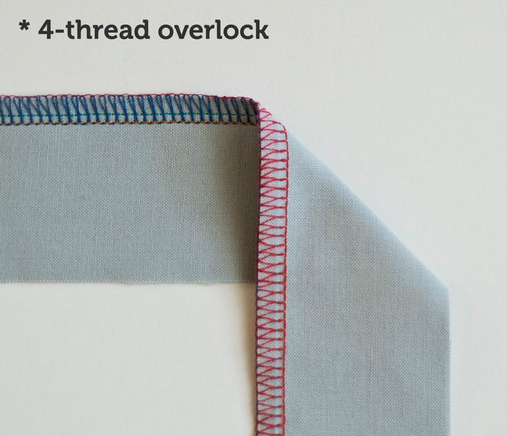 Serger Stitches: when should you use the different serger stitches