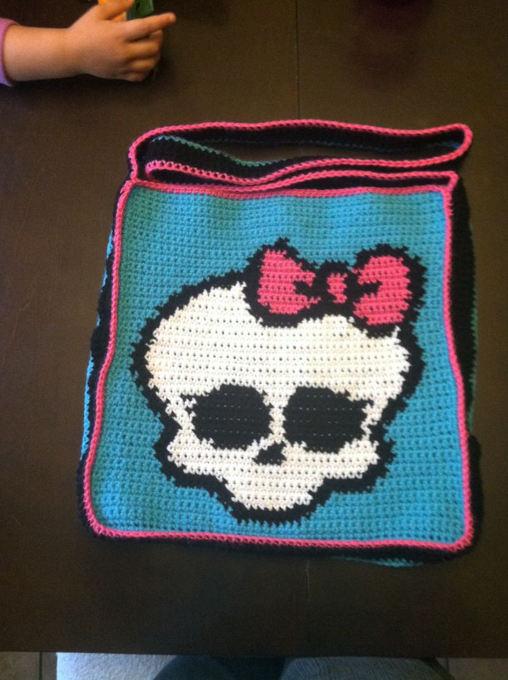 Crochet Monster High Bag