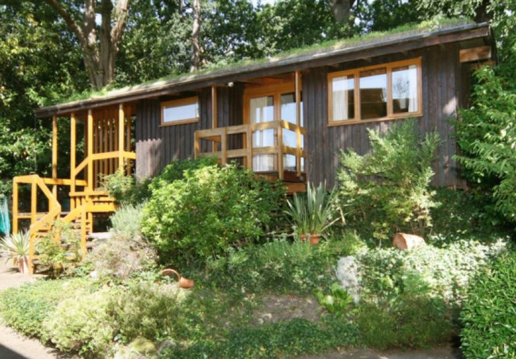 eco studio with grass roof -  Elstree Hill London suburbs