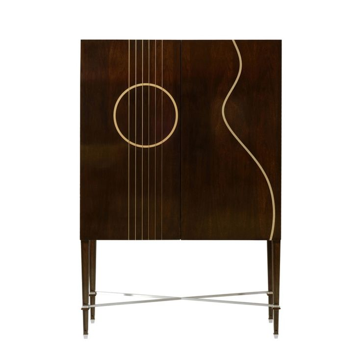 Guitar Maestro Cabinet - Traditional Transitional Contemporary Cabinets