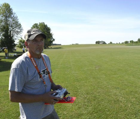 Model airplanes were seen all over the sky during the annual Wilbur Wright Birthplace Festival, which took place over the weekend.