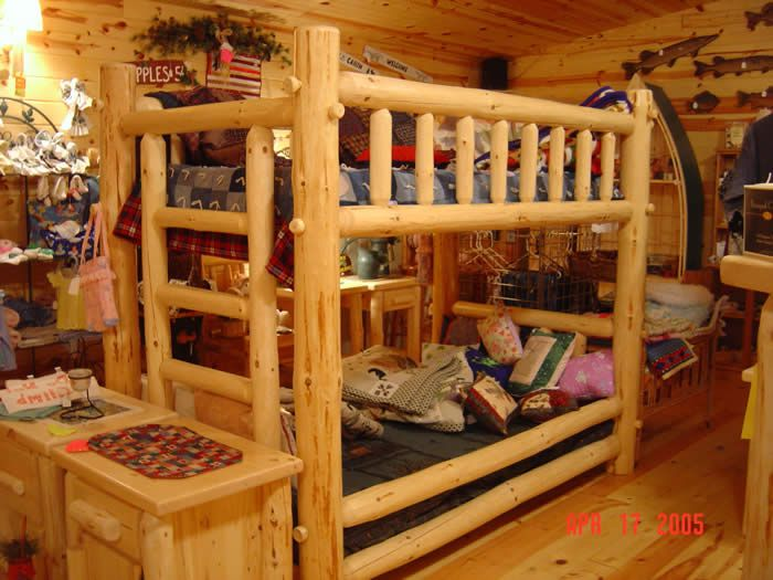 17 best images about log cabins and western decor on for Log cabin furniture store