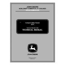 John Deere 2210 Compact Utility Tractor Technical Manual TM-2074 PDF
