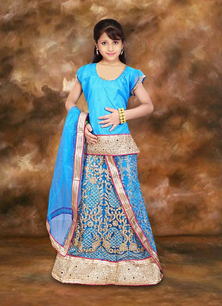 #Charming Turquoise Net Girl's #Readymade #Lehenga Choli  #Online #Shopping. To get more details, Call us: +91-8347727772  Email ID: info@addsharesale.com
