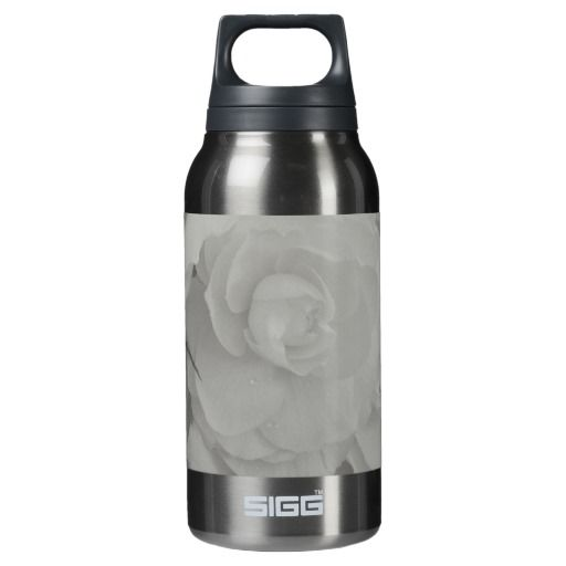 White Begonia SIGG Thermo 0.3L Insulated Bottle