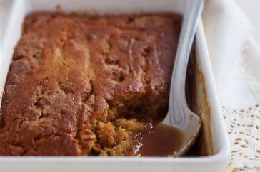 this was a lovely easy quick after dinner recipe - butterscotch self saucing pud.