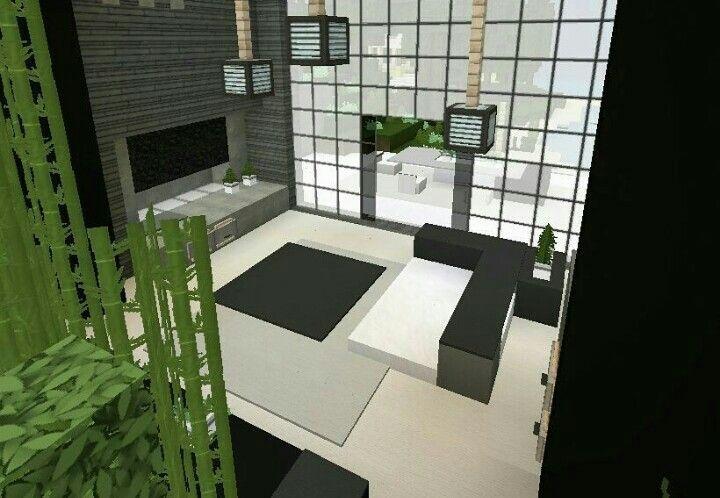 Interior design from @minecraft_biome